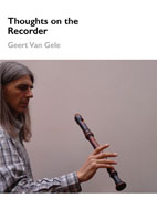 Thoughts on the Recorder